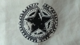 Текстильная сумка Звезда