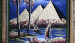 Папирус-бра «Египетские пирамиды»