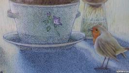 ′Маленька гостя′ (малюнок)