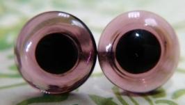 Глаза «8 мм темный аметист» для мишек Великобритания