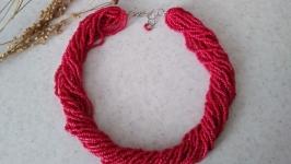 Ожерелье ′малинка′
