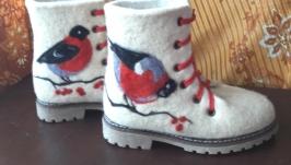 тут изображено Ботинки Снегири