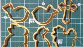 Вирубки для печива та пряників на паску