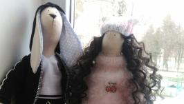 Куклы встиле тильда ,портретные