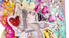 Открытка ′Королева Зазеркалья′