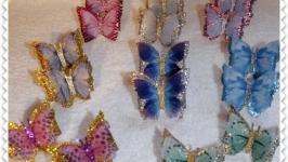Резиночки бабочки