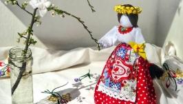 Лялька мотанка ′Весна′.