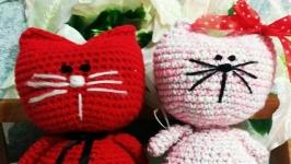 Котята сердечки Мягкая игрушка Подарок