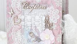 Альбом для дівчинки , подарунок на 1 рік дитині
