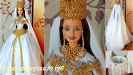 под заказ №176 кукла шкатулка подарок для прикрас или купюрница
