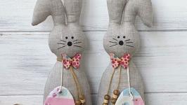 Пасхальные кролики - 2шт