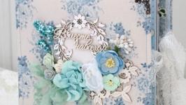 Свадебный альбом , венчальный фотоальбом , подарок на свадьбу или годовщину