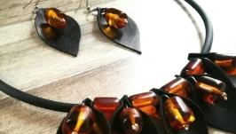 Кожаный комплект ′Энергия камня′