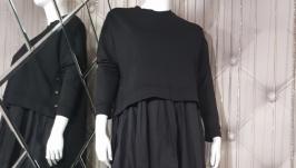 Комплект: Платье и топ