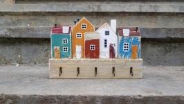 Відкрита ключниця для дому ′Затишний двір′