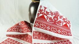 Оберег на зачатие детей Свадебный рушник Рушник оберег для беременной