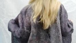 Валяне пальто Туман