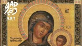 Схема для вышевки ′Тихвинская Икона Божей матери′