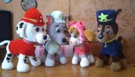 команда щенячьго патруля