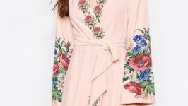 Платье с вышивкой - Бохо 2