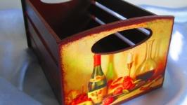 Ящик интерьерный для хранения, серия ′Голландский натюрморт′