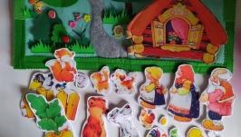Кукольный театр 4 сказки.