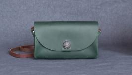 Шкіряна сумка Monica_verdant