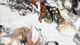 Интерьерная картина Монохром. Акрил, холст.