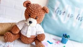 Плюшевый Медвежонок ручной работы
