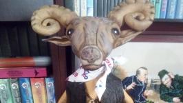 Текстильна іграшка Овен