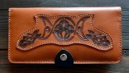 Гаманець з символом Богині та кельтським орнаментом