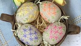 Набор ′Пасхальные яйца′ в коробке - 4шт