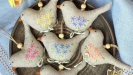 Набор ′Весенние птички′ в коробке - 6шт