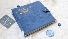 Альбом для новорожденного малыша , бебибук для мальчика в наличии
