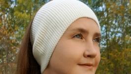 повязка на голову белая