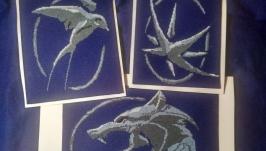 Набор схем для вышивки крестиком из сериала Ведьмак