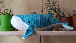 тут изображено Амигуруми кит