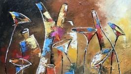 Абстракция, арт-деко « Сладкие восемнадцать»