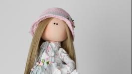 Ника интерьерная текстильная кукла