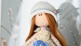 Аврора интерьерная текстильная кукла