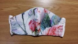 Защитная маска многоразового использования ′роза′