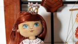 Текстильная кукла Королевна