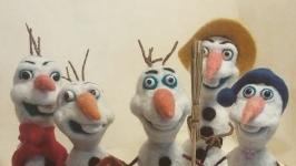 Снеговик  Олаф.