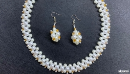 Комплект Ожерелье серьги