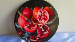 Сырная доска ′Гранат′ для оригинальной подачи закусок, для сервировки стола