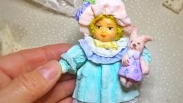 ватная игрушка из серии Маленькая леди