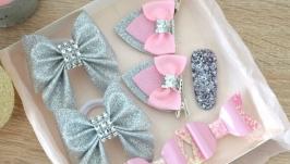 Набір аксесуарів для дівчаток в подарунковій коробочці