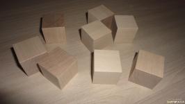 Клен. Заготовки для рунических кубиков (гадальных костей)