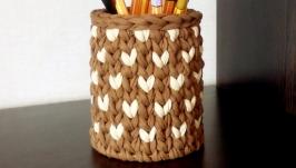 Корзинка-карандашница