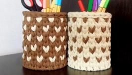 Комплект корзинок-карандашниц